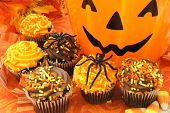 pic of jack o lanterns  - Happy Halloween  - JPG
