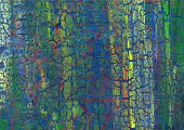 Acrylic Craquelure Background