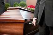 stock photo of pallbearer  - Religion - JPG