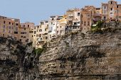Bonifacio city on Cliff, Corsica island, France