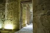 Interior Abydos Temple, Egypt