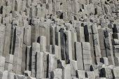 Basalt Prisms Rock, South Iceland