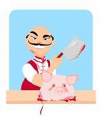 Butcher - Cartoon