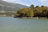 Ansicht der Stadt Ioannina in Griechenland