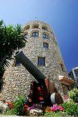 Moorish Tower And Cannon