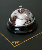 Service Bell On Reception Desk