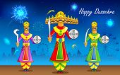 image of ravan  - illustration of Raavan Dahan for Dusshera celebration - JPG