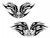 Black Bikes Tattoos