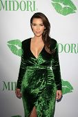SANTA MONICA - SEP 25: Kim Kardashian at the Midori Makeover Parlour at Fred Segal on September 25,