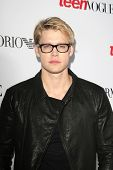 BEVERLY HILLS - SEP 27:  Chord Overstreet at the Teen Vogue's 10th Anniversary Annual Young Hollywoo