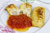 Hake Fillet With Fresh Tomato Sauce