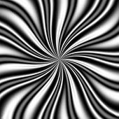 B & W Swirly Vortex