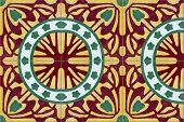 Antique Nyonya Floor Tiles