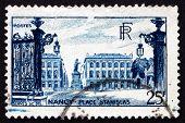 Postage Stamp France 1948 Stanislas Square, Nancy
