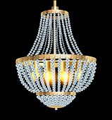 Chandelier With Crystal Pendants