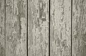 Old Chapped Wooden Neutral Grey Background