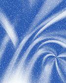 Soft Blue Material. Snow # 2