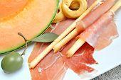 Appetizer Ham And Melon