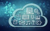 Cloud Computing Concept Icons