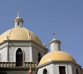 Yellow Church Cupolas