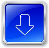 Download Icon On Blue Button