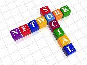 Social Network - Colour Crossword