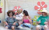 BOISE, ID - AUG 20: Participants in the Tour De Fat annual show in Ann Morrison Park oh August 20, 2