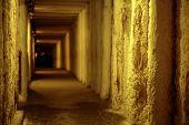 Leere Korridor