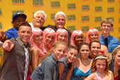James Brolin and cast of Standing Ovation  at the