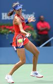 Grand Slam champion Ana Ivanovich during third round match at US Open 2013 against Christina McHale
