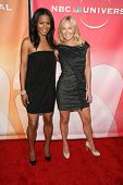 Rose Rollins and Kelli Giddish at the NBC Summer Press Tour Party, Beverly Hilton Hotel, Beverly Hil