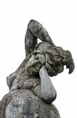 Fountain Of The Naiads By Mario Rutelli, Nymph Of The Oceans