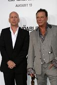 Bruce Willis and Mickey Rourke  at the