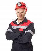 Serious Coal Miner
