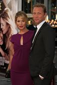 Christina Applegate and fiance Martyn LeNoble at the