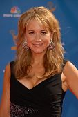 Megyn Price at the 62nd Annual Primetime Emmy Awards, Nokia Theater, Los Angeles, CA. 08-29-10