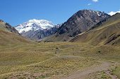 foto of aconcagua  - Aconcagua National Park - JPG