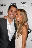 Giuliana Rancic and husband Bill Rancic at the OK Magazine USA Fifth Anniversary Party, La Vida, Hol