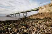Clevedon Pier and beach