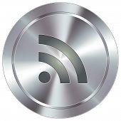 Modern RSS button