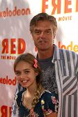 Harry Hamlin with daughter Delilah Hamlin  at the premiere of