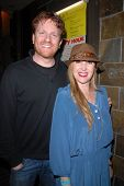 Gil Cates Jr. and Jenise Blanc at Jennifer Blanc-Biehn's Birthday Party, Sardos, Burbank, CA. 04-23-10