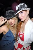 Jennifer Blanc-Biehn and Phoebe Price at Jennifer Blanc-Biehn's Birthday Party, Sardos, Burbank, CA.