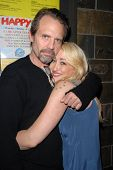 Michael Biehn and Jennifer Blanc-Biehn  at Jennifer Blanc-Biehn's Birthday Party, Sardos, Burbank, C