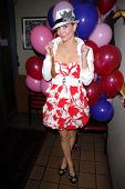Phoebe Price at Jennifer Blanc-Biehn's Birthday Party, Sardos, Burbank, CA. 04-23-10