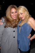 Michelle Karam and Jennifer Blanc-Biehn  at Jennifer Blanc-Biehn's Birthday Party, Sardos, Burbank,
