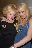 Dana Daurey and Jennifer Blanc-Biehn at Jennifer Blanc-Biehn's Birthday Party, Sardos, Burbank, CA.