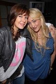 Holly Field and Jennifer Blanc-Biehn at Jennifer Blanc-Biehn's Birthday Party, Sardos, Burbank, CA.