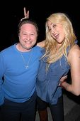 Scott Schwartz and Jennifer Blanc-Biehn at Jennifer Blanc-Biehn's Birthday Party, Sardos, Burbank, C