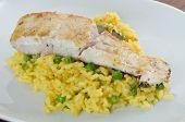 Codfish with rice